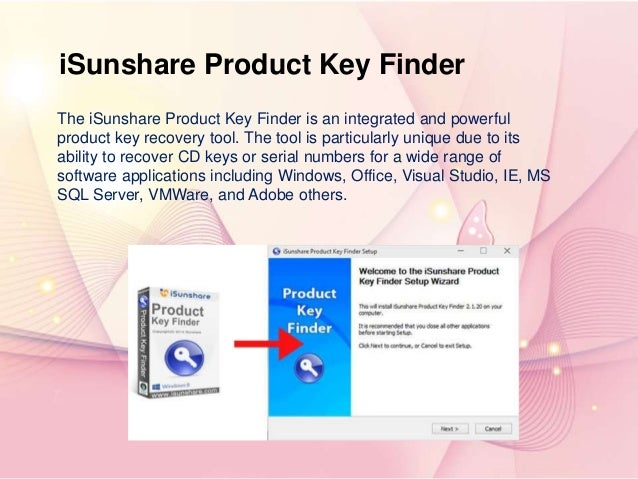 free windows product key finder download
