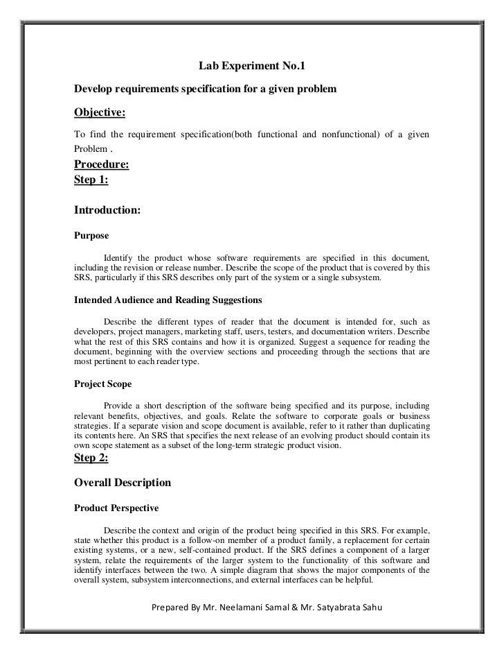software engineering lab manual rh slideshare net software engineering lab manual for cse r13 jntuk software engineering lab manual 4th sem