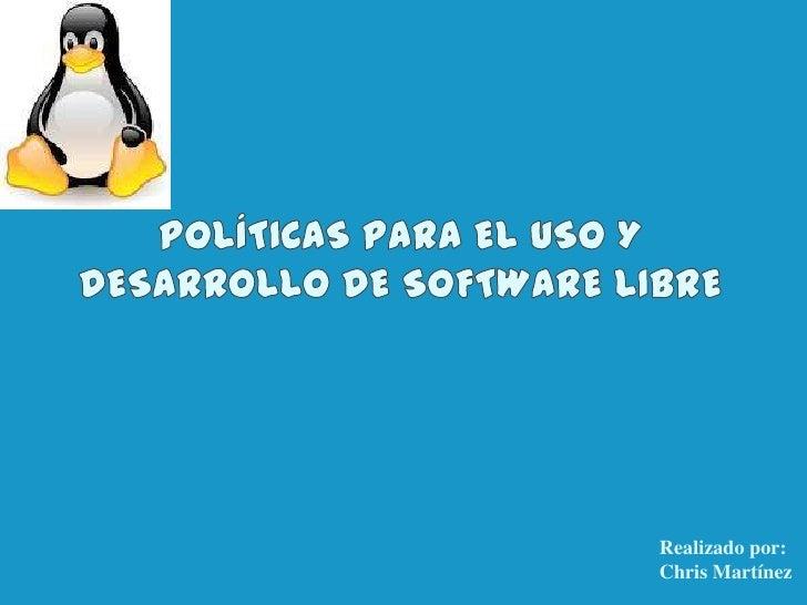 Realizado por:Chris Martínez