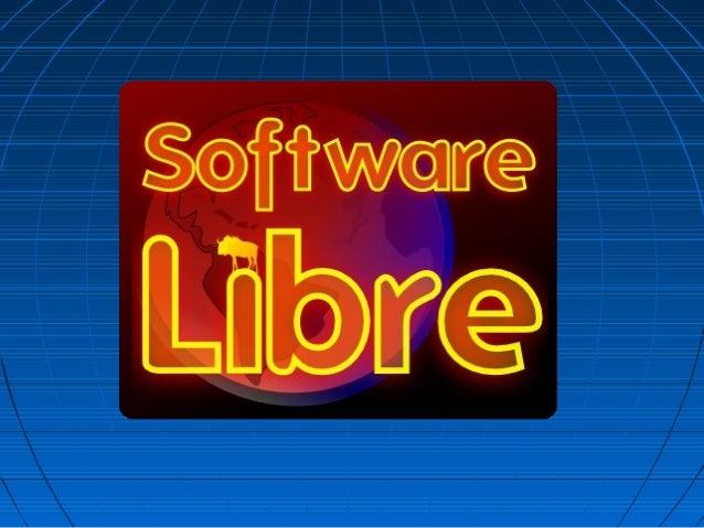 El software libre es software con autorización para que cualquiera pueda usarlo, copiarlo y distribuirlo, ya sea con o sin...