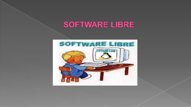 Se refiere a la libertad de los usuarios para ejecutar, copiar, distribuir, estudiar, cambiar y mejorar el software.