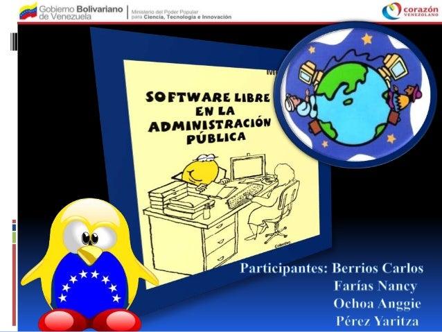 El año 2004 marcó un hito importante en eldesarrollo tecnológico en Venezuela, ya que através del Decreto 3.390 se estable...