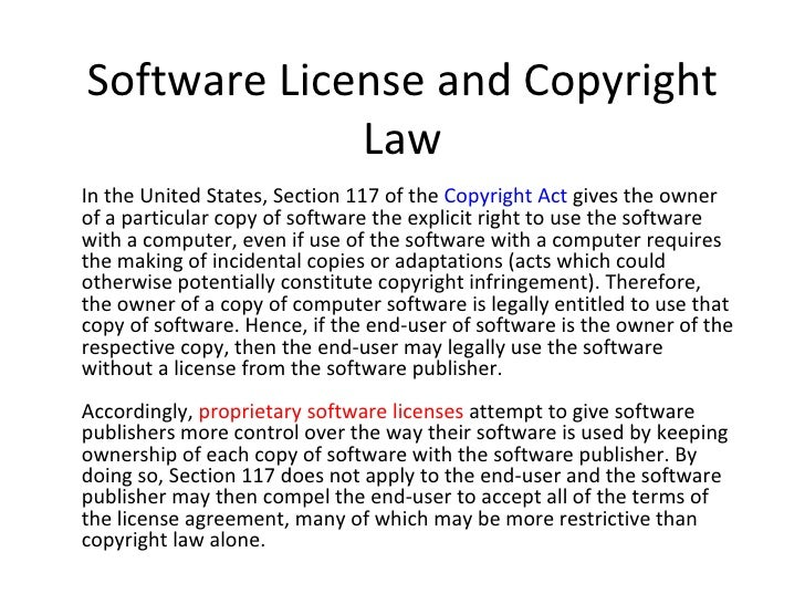 Sample Software License Agreement Software Licence Screenshot How