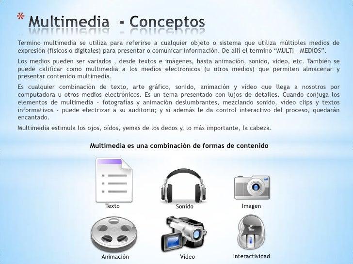 Software multimedia - Definicion de multimedia ...