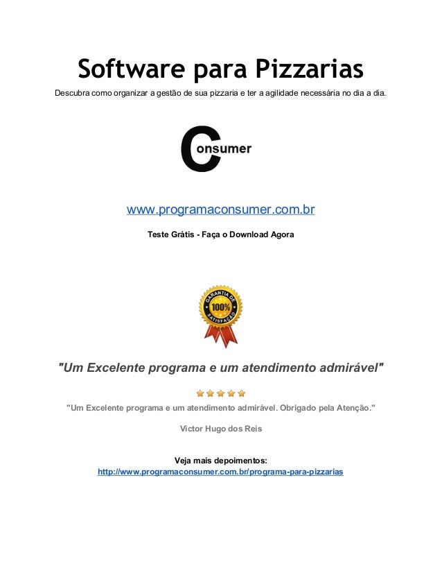 Software para Pizzarias Descubracomoorganizaragestãodesuapizzariaeteraagilidadenecessárianodiaadia.   ...