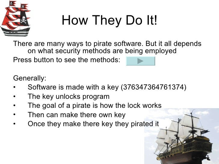 software piracy and cracking Software piracy is the unauthorized copying or distribution of copyrighted software this can be done by copying, sharing, reverse engineering or, in general, by.