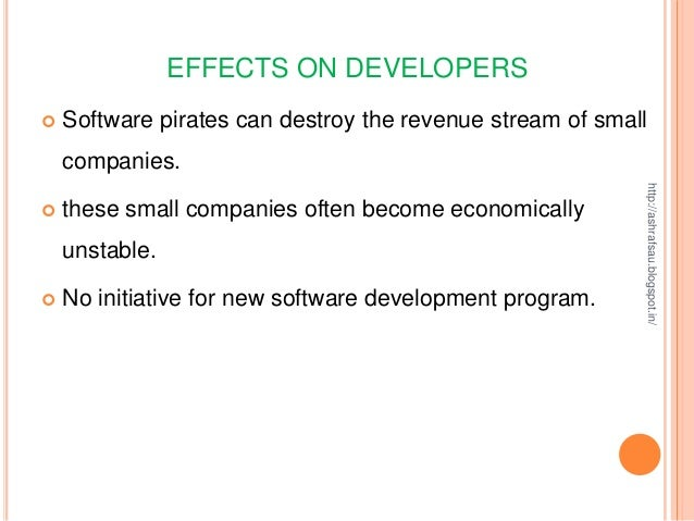 software piracy and society