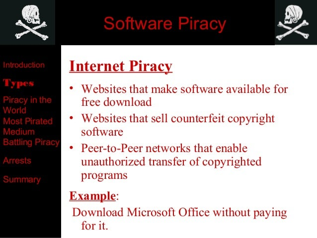what is software online piracy act