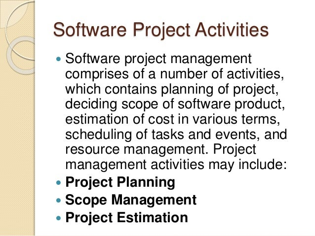 Software project management- Software Engineering