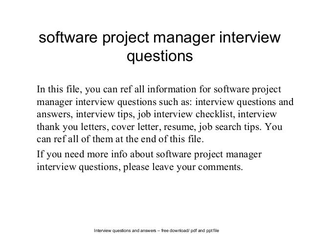 Interview questions project manager yolarnetonic interview questions project manager expocarfo Images