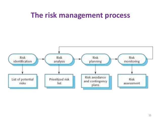 The risk management process 55
