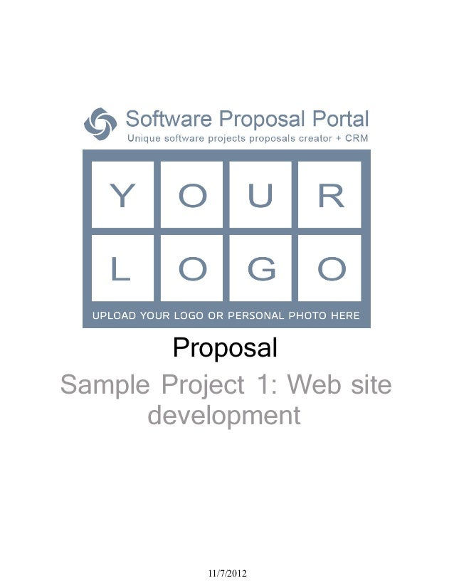 Software Proposal Sampleproject1 Websitedevelopmentbyzx7ofn