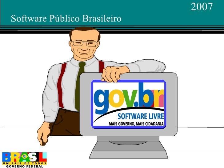 2007 Software Público Brasileiro