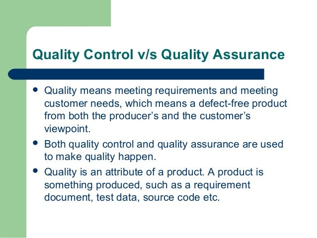 Software quality assurance lecture 1