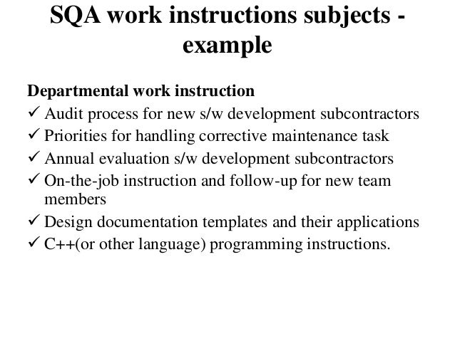 SQA - chapter 13 (Software Quality Infrastructure)