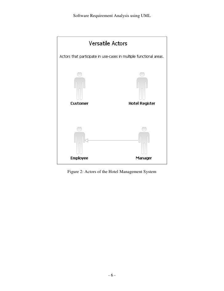 Software requirement analysis using uml 5 6 software requirement analysis ccuart Gallery