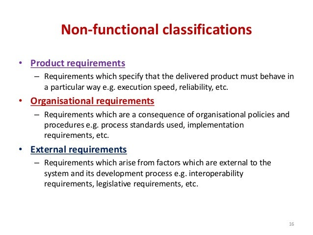 Software Requirement And Specification - Product requirements document