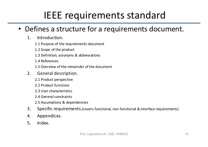 Generous Ieee Requirements Template Ideas - Example Resume Templates ...