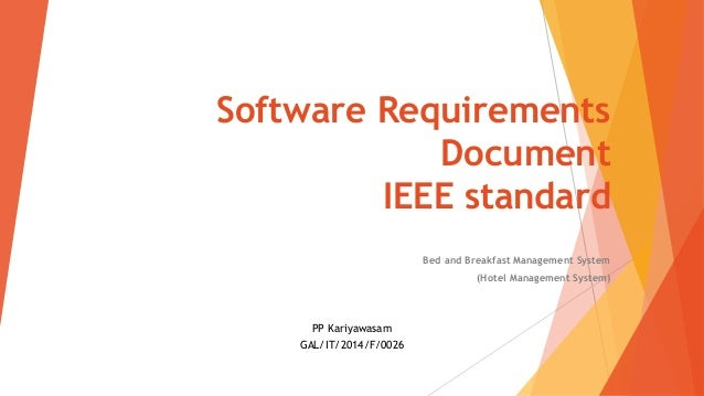 Outstanding Ieee Standard Srs Template Collection - Wordpress Themes ...