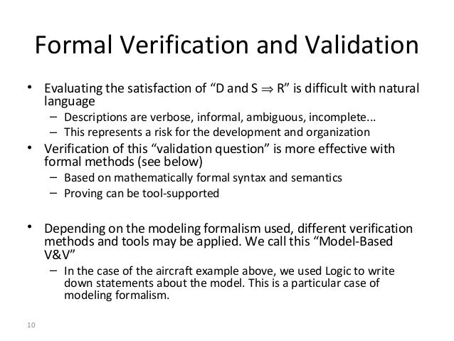 data validation and verification essay Belsim, the process data validation and reconciliation (dvr) expert for 25 years our software suite vali for advanced coherency treatment of your plant data.