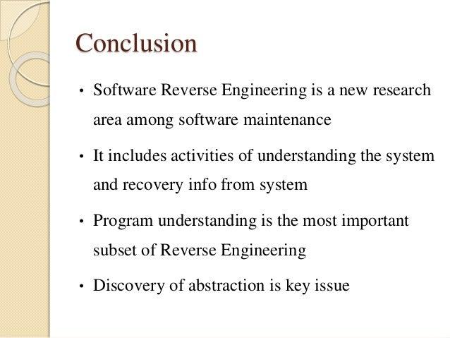 reverse engineering in software engineering pdf