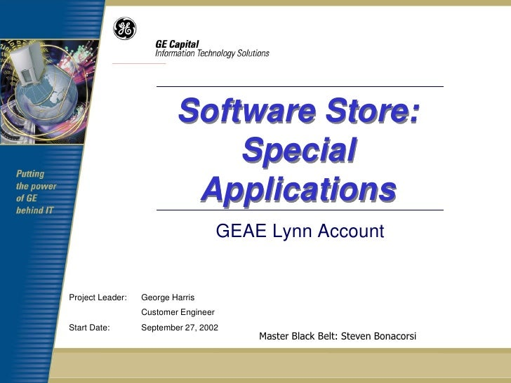 Software Store:                              Special                           Applications                               ...