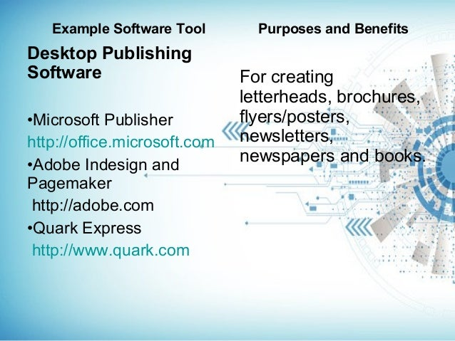3 example software