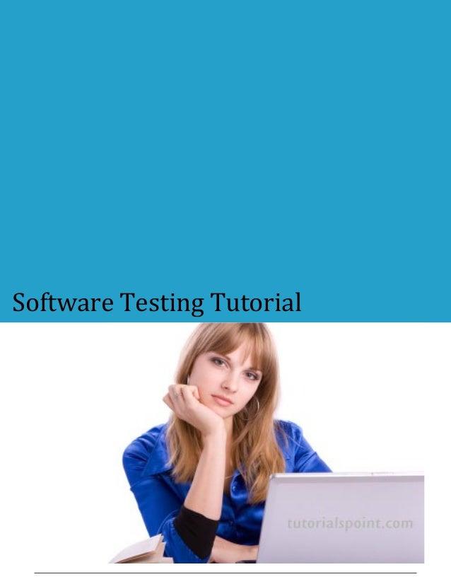 Software Testing Tutorial