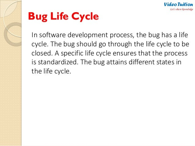 Software Testing Defectbug Life Cycle Complete Flow Chart Of Def