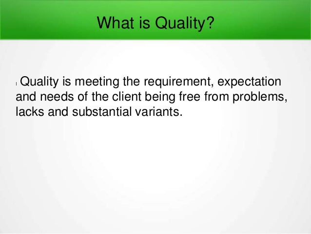 Software testing quality control and quality assurance Tutorial