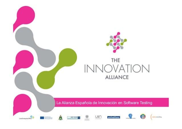 La Alianza Española de Innovación en Software Testing