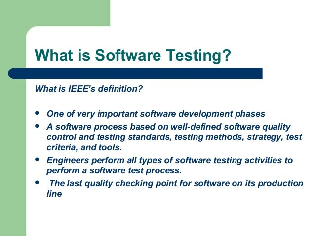 software testing lecture 9