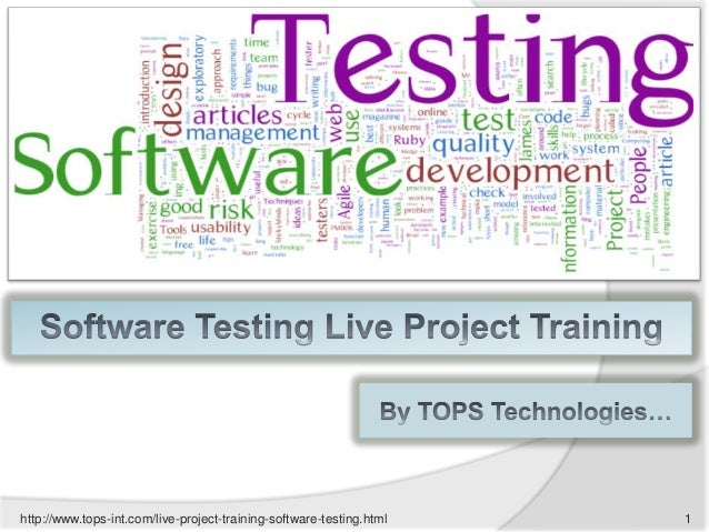 http://www.tops-int.com/live-project-training-software-testing.html  1