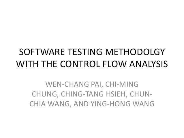 testing methodolgy (the waterfall development methodology, 2006)  testing is easier as it can  be done by reference to the scenarios defined in the functional specification ( the.