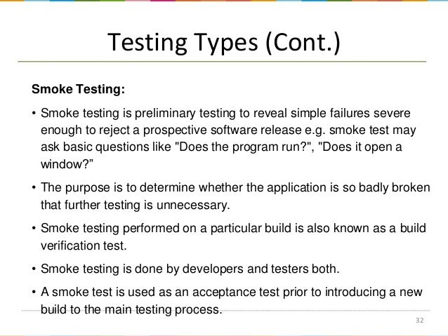 Software Testing Methods Levels And Types