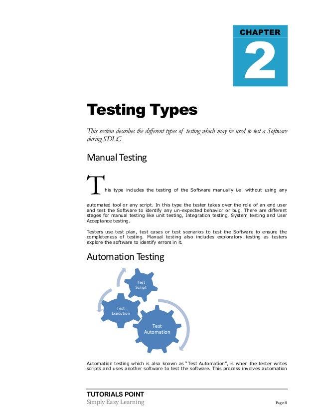 Automation Testing Pdf
