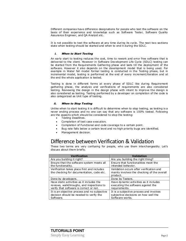 Software testing pdf