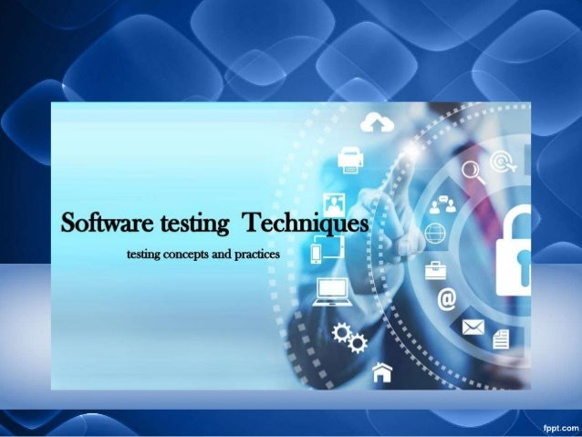 What is software testing • Process of executing a program and its application. • Intent of finding the Software bugs. • Pr...