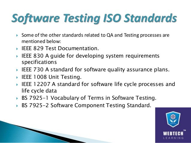 Software Testing Amp Quality Assurance