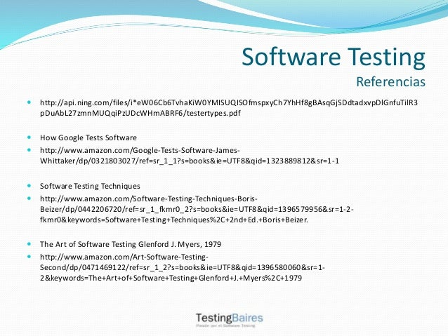 software testing techniques second edition by boris beizer pdf