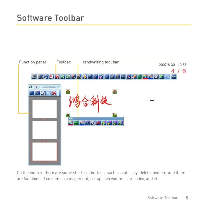 what is a software user manual
