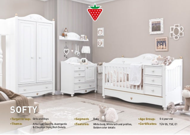 •Target Group: Girls and Boys •Segment: Baby •Age Group: 0-6 year old  •Theme: White body, White lath and profiles,  Ameri...