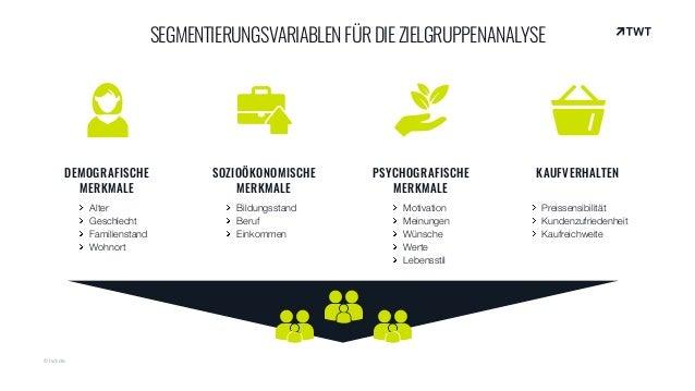 DEMOGRAFISCHE MERKMALE Alter Geschlecht Familienstand Wohnort SOZIOÖKONOMISCHE MERKMALE Bildungsstand Beruf Einkommen PSYC...