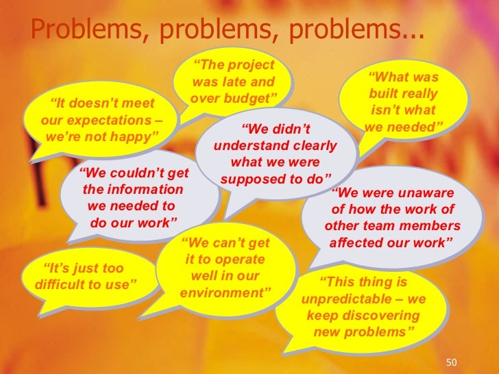 """Problems, problems, problems... """" This thing is unpredictable – we keep discovering new problems"""" """" It's just too  difficu..."""