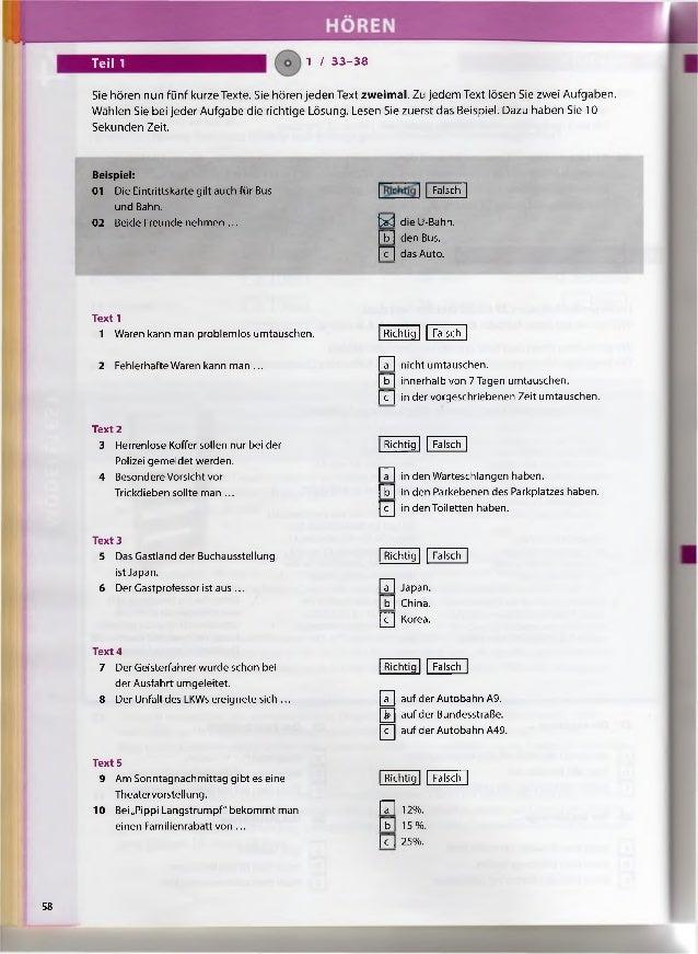 Richtung Zertifikat B1 Con Audio Languageservices