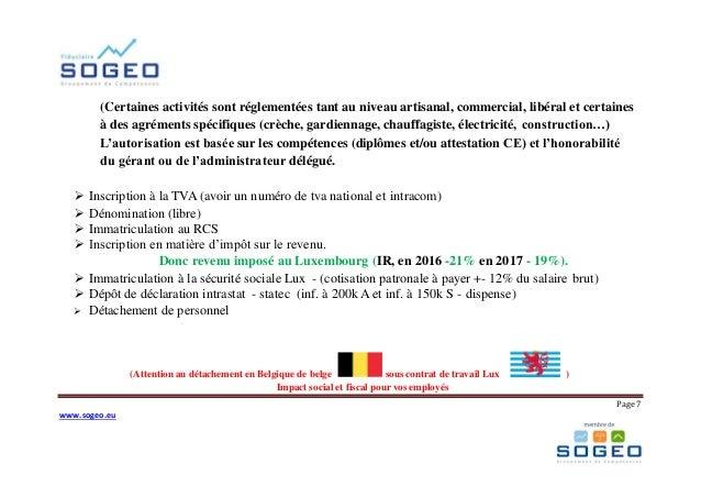 Seance D Information Grand Duche De Luxembourg 08 06 17 Le Luxe