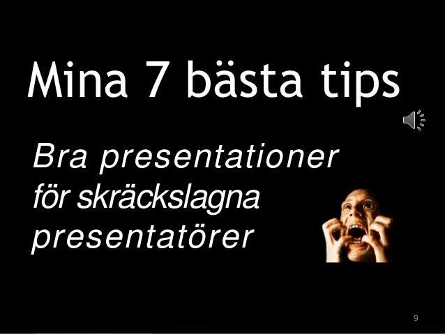 bra presentationer dejting online