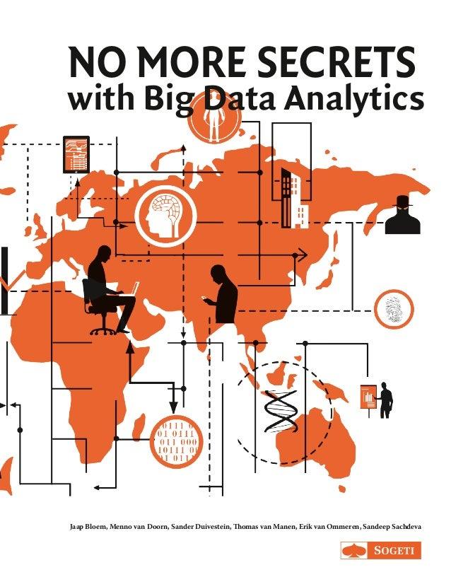 NO MORE SECRETS with Big Data Analytics Jaap Bloem, Menno van Doorn, Sander Duivestein, Thomas van Manen, Erik van Ommeren...