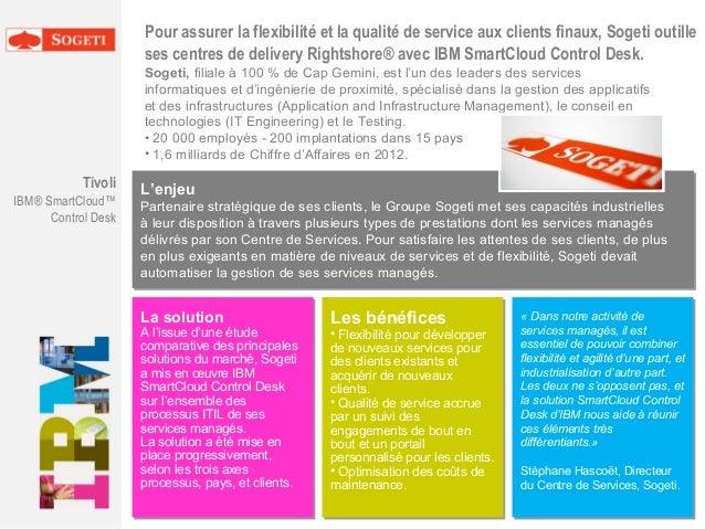 Pour assurer la flexibilité et la qualité de service aux clients finaux, Sogeti outille ses centres de delivery Rightshore...
