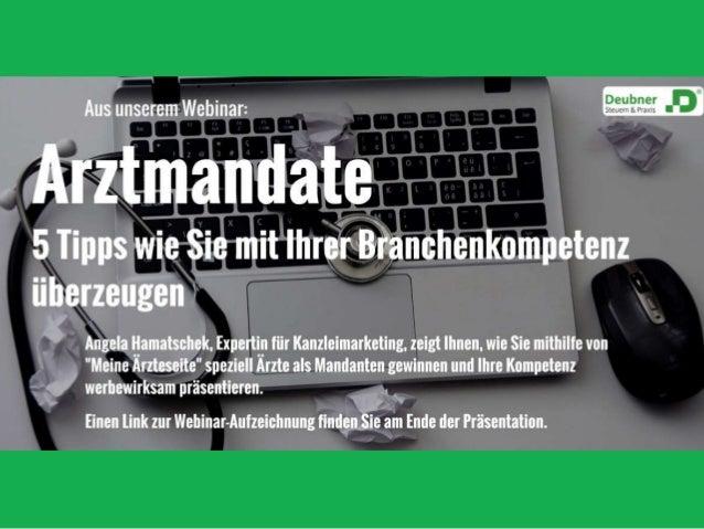 Präsentation zum Webinar: